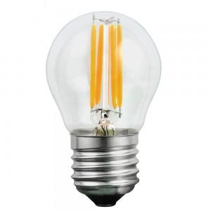 LED lamp FMB Filament 230V 1.3W 55lm CRI80 E27 360° 2700K soe valge