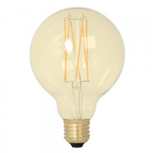 LED bulb G125 Soft Glow, 352-54 DIM 230V 3.6W 320lm CRI80 E27 360° IP44 2100K warm white