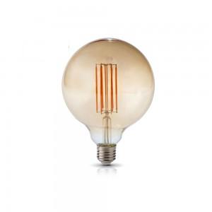 LED lamp FG125 230V 7W 800lm CRI80 E27 360° 2700K soe valge