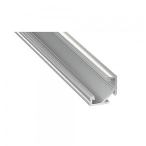 Alumiiniprofiili LUMINES Type C 3m valkoinen