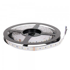LED strip REVAL BULB 5050 60LED 1m 24V 19.2W 885lm CRI80 120° IP20 RGB + 3000K RGBW warm