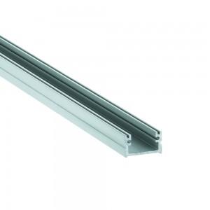 Alumiiniumprofiil LUZ NEGRA Roma XL 2m hõbedane
