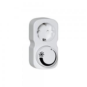 Dimmer 399-21 white 230V 200W IP20