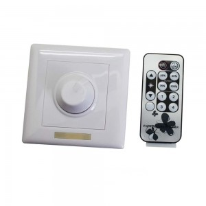 Switch REVAL BULB LED Dimmer, IR remote 230V 300W IP20