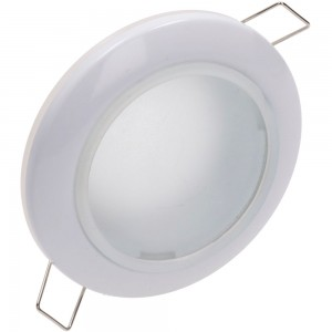 Luminaire frame UL MR16 white round 12V GU5.3 IP44