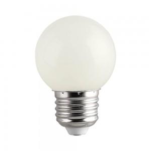 LED лампа G45 230V 1W 70lm CRI80 E27 320° 2700K теплый белый