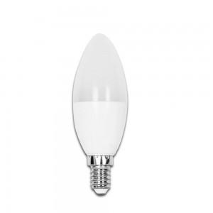 LED лампа AIGOSTAR A5 C37 свеча 230V 4W 320lm CRI80 E14 270° 3000K теплый белый