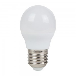 LED lamp AIGOSTAR A5 G45 230V 7W 470lm CRI80 E27 280° IP20 3000K soe valge