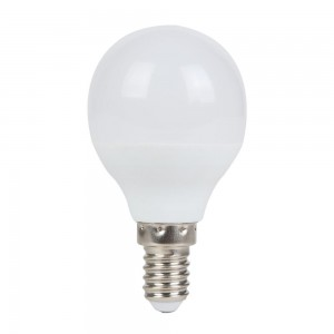 LED bulb AIGOSTAR A5 G45 BIG ANGLE 230V 7W 520lm CRI80 E14 220° IP20 3000K warm white