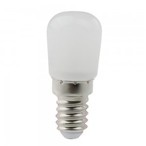 LED lamp AIGOSTAR T26 230V 2W 120lm CRI80 E14 360° IP42 3000K soe valge