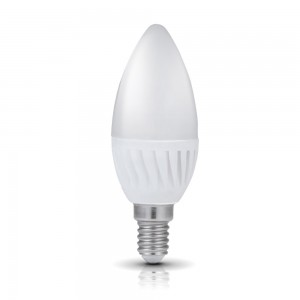 LED bulb PREMIUM SW candle white 230V 9W 900lm CRI80 E14 200° 3000K warm white