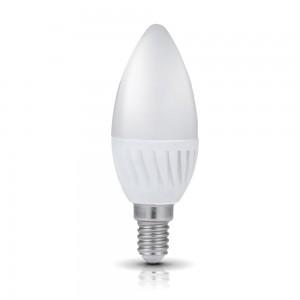 LED-lamppu PREMIUM SW kynttilä valkoinen 230V 9W 900 CRI80 E14 200° 3000K lämmin valkoinen
