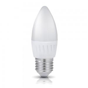 LED lamp PREMIUM SW küünal valge 230V 9W 900lm CRI80 E27 200° 3000K soe valge