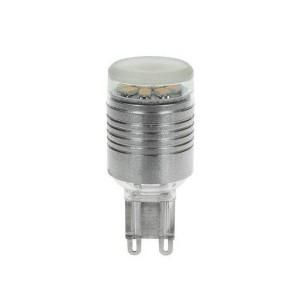 LED-lamppu REVAL BULB G9 3528 12SMD 230V 2W 140lm 120° 3200K lämmin valkoinen