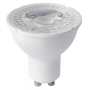 LED lamp PREMIUM SAMSUNG 230V 5W 430lm CRI80 GU10 100° 3000K soe valge