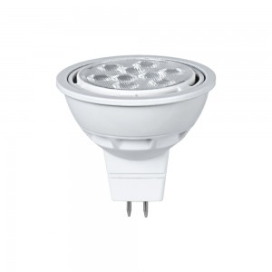 LED lamp PROLUMEN MR16 ST TRIAC, 9LED 346-03 12V 8W 680lm CRI80 G5.3 36° IP20 2700K soe valge