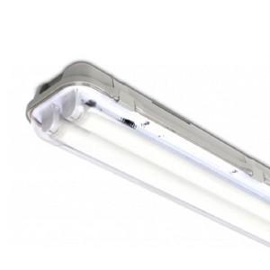 Корпус лампы INTELIGHT T8 2 x 60 для светодиодной трубки IP65