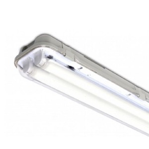Housing T8 2 x 150 for LED tube IP65