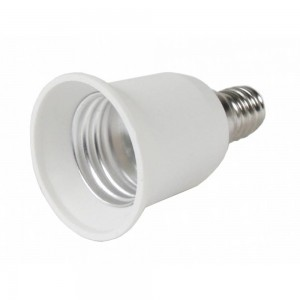 Цоколь лампы E14 > E27