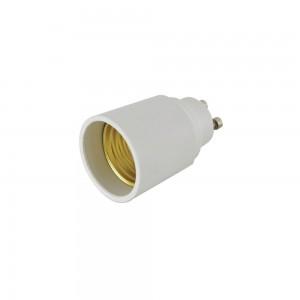 Цоколь лампы GU10 > E27