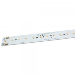 LED aluminium strip REVAL BULB 1150 x 20mm 8S14P 2835 24V 15W 2000lm CRI90 120° IP20 3000K warm white