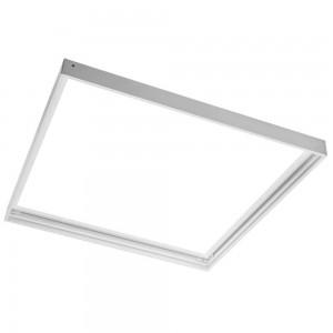 LED-paneeli 600x600 paneeli runko valkoinen