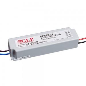 Power supply unit GLP POWER 24V DC GPV-60-24 230V 60W IP67