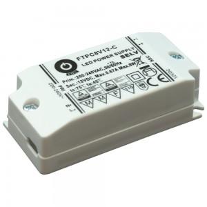 Power supply unit POS POWER 12V DC  Slim FTPC8V12-C 230V 8W IP20