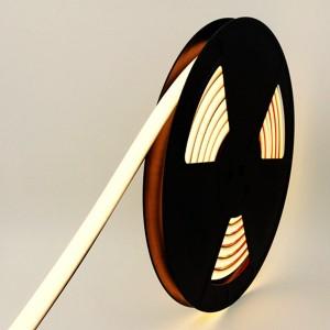 LED Riba Neon Flex REVAL BULB 1010 5m rull 24V 9.6W 450lm CRI90 100° IP67 3000K soe valge