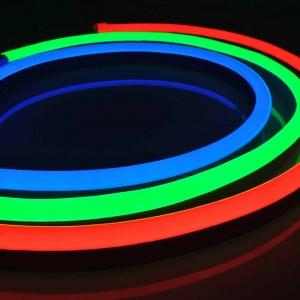 LED Riba Neon Flex REVAL BULB 96LED 12x20 10m rull 24V 11,5W IP67 RGB