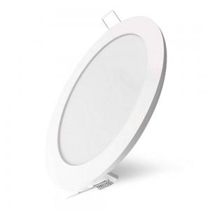 LED Paneel AIGOSTAR E6 D170 valge ring 230V 16W 1130lm CRI80 120° IP20 3000K soe valge
