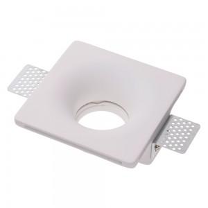 Локальный LED светильник ODEON белый квадрат 230V 35W GU10