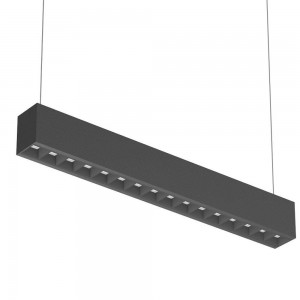 LED ceiling light PROLUMEN DB45A UGR19 1200 black 230V 40W 4500lm CRI80 100° IP20 3000K, 4000K, 5700K WW/DW/CW