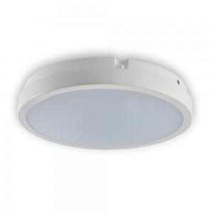 Plafoon TORO valge ring 230V 12W 935lm CRI80 120° IP65 4000K päevavalge