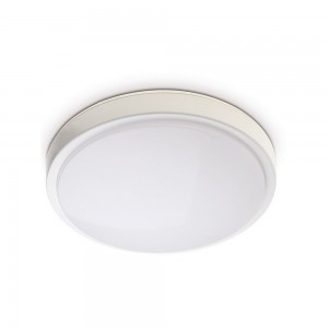 Dome light TAURUS with motion sensor white round 230V 15W 1300lm CRI80 120° IP44 4000K pure white