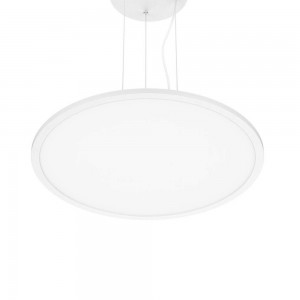 LED panel PROLUMEN 600 TRIAC Pendant white round 230V 45W 3240lm CRI80 120° IP40 3000K warm white
