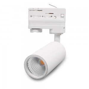 LED track light PROLUMEN Bolton‎ TRIAC white 230V 10W 900lm CRI90 24° IP20 2700K warm white