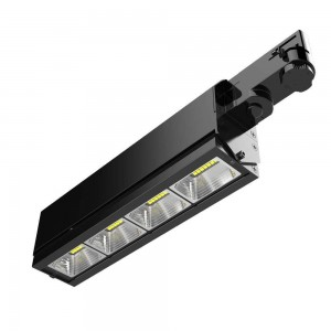LED track light PROLUMEN Washington DALI black 230V 40W 5200lm CRI80 30x60° IP42 4000K pure white