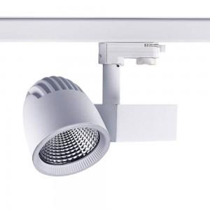 LED светильник на шине PROLUMEN Tampere белый 230V 40W 4000lm CRI80 45° 3000K теплый белый