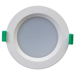 LED downlight LLV10D white round 230V 10W 800lm CRI80 120° IP44 3000K, 4000K, 6000K WW/DW/CW