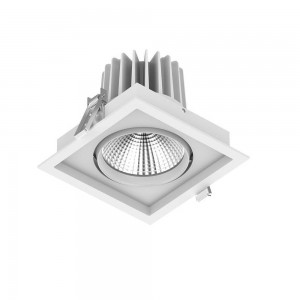 LED downlight PROLUMEN CL67-1 white 230V 30W 2800lm CRI80 60° IP20 3000K warm white