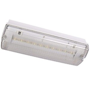 LED-turvavalaisin INTELIGHT ORION LED 100 CB keskusakku 230V 3.5W 126lm CRI70 IP65