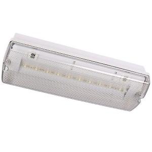 LED-turvavalaisin INTELIGHT ORION LED 150 CB keskusakku 230V 3.5W 182lm CRI70 IP65