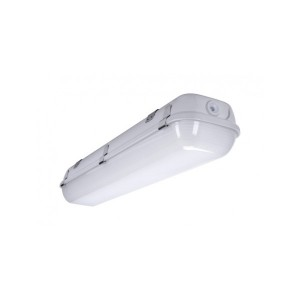 LED security light INTELIGHT WARS LED DeLuxe 150 Standard gray 230V 54W 5150lm CRI80 IP65 4000K pure white