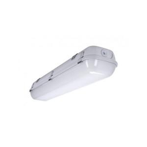 LED-turvavalaisin INTELIGHT WARS LED DeLuxe 150 Standard harmaa 230V 54W 5150lm CRI80 IP65 4000K päivänvalkoinen