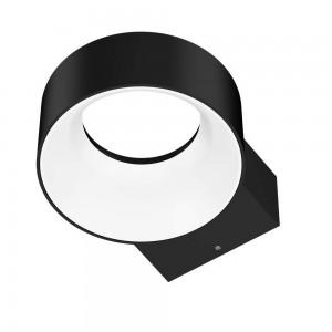 LED-seinävalaisin PROLUMEN WL07 musta 230V 8W 600lm CRI80 120° IP65 3000K lämmin valkoinen