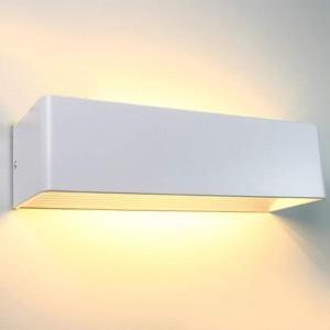 LED wall light REVAL BULB AS200 white 230V 7W 560lm CRI80 IP44 3000K warm white