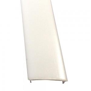 Aluminium profile cover LUZ NEGRA BERLIN, FRANKFURT, LONDRES, MILANO, PARIS, ROMA, SOFIA, 2m, milky 50%