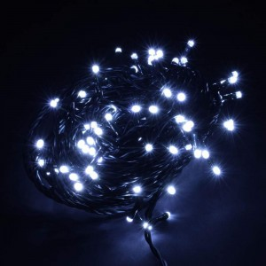 Light chain 100LED 10m 6W IP44 5000K pure white