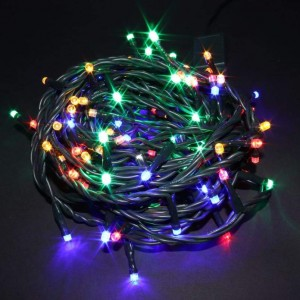 Light chain 100LED 10m 6W IP44 RGB